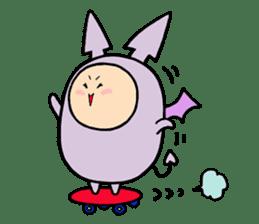 Tensuke&akumaru sticker #547627