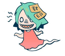 Cute monster Sealed sticker #547787
