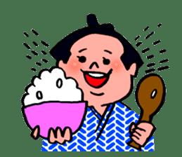 A hungry YOKOZUNA sticker #547934