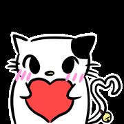 สติ๊กเกอร์ไลน์ Manekineko Koban (Lucky cat Koban)