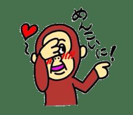 YonagoCity-MonKey sticker #548899