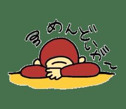 YonagoCity-MonKey sticker #548909