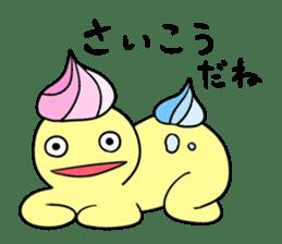 Relaxed morumo sticker #549103