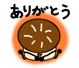 Fairy of the Japanese mushroom shiitake. sticker #549598