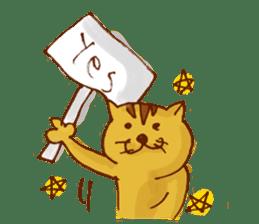 funny everyday I'm Poyoneko sticker #549757