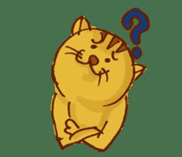 funny everyday I'm Poyoneko sticker #549766