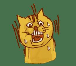 funny everyday I'm Poyoneko sticker #549769