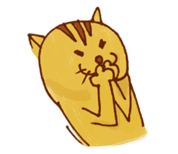 funny everyday I'm Poyoneko sticker #549777
