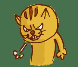 funny everyday I'm Poyoneko sticker #549780