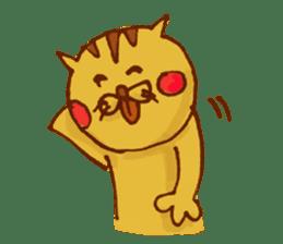 funny everyday I'm Poyoneko sticker #549786