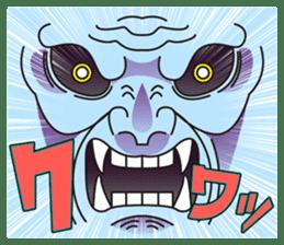 Stamp of demons. sticker #550432