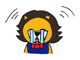 Raimaru kun Lion sticker #551884