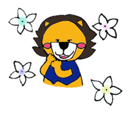 Raimaru kun Lion sticker #551885
