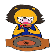Raimaru kun Lion sticker #551888