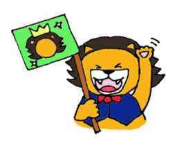 Raimaru kun Lion sticker #551895