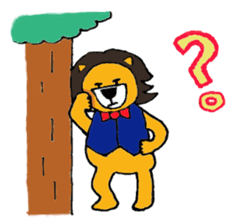 Raimaru kun Lion sticker #551899