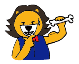 Raimaru kun Lion sticker #551901