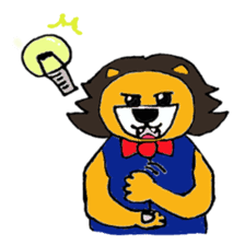 Raimaru kun Lion sticker #551903