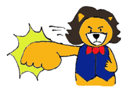 Raimaru kun Lion sticker #551910