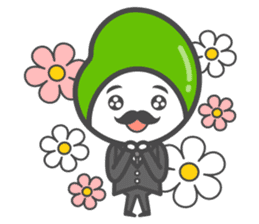 Mr. Broad Bean sticker #552199