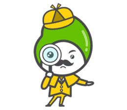 Mr. Broad Bean sticker #552200