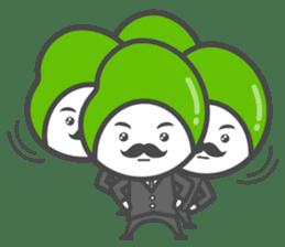 Mr. Broad Bean sticker #552204