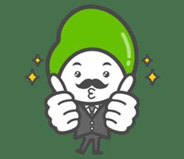Mr. Broad Bean sticker #552205