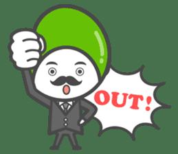 Mr. Broad Bean sticker #552210