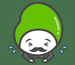 Mr. Broad Bean sticker #552215