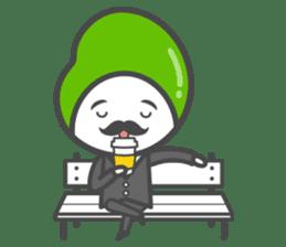 Mr. Broad Bean sticker #552216