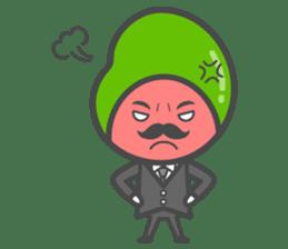 Mr. Broad Bean sticker #552217