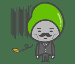 Mr. Broad Bean sticker #552218