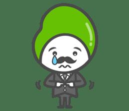Mr. Broad Bean sticker #552221