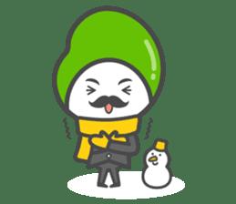 Mr. Broad Bean sticker #552223