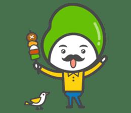 Mr. Broad Bean sticker #552225