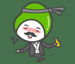 Mr. Broad Bean sticker #552227