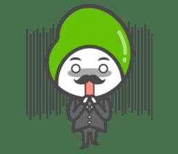Mr. Broad Bean sticker #552231