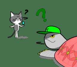 Cat sticker sticker #552343