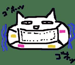 japanese cat mikeneko sticker #552516
