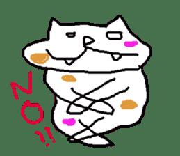 japanese cat mikeneko sticker #552526