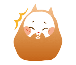 Colorful cats sticker #552917