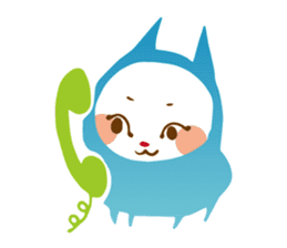 Colorful cats sticker #552921