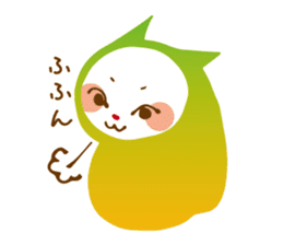 Colorful cats sticker #552924