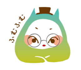 Colorful cats sticker #552925