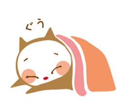 Colorful cats sticker #552929