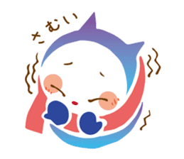 Colorful cats sticker #552944