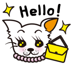 Cute Chihuahua! sticker #554197