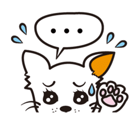 Cute Chihuahua! sticker #554204