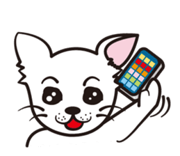 Cute Chihuahua! sticker #554211