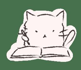 Sumi-Neko sticker #554343